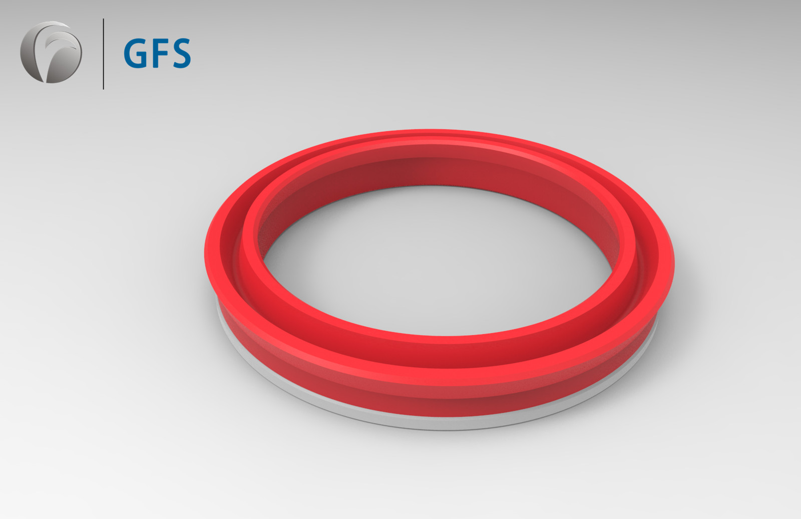 PUK -Customized U-Cup, U-Shaped PU Piston Seal With Retainer Ring